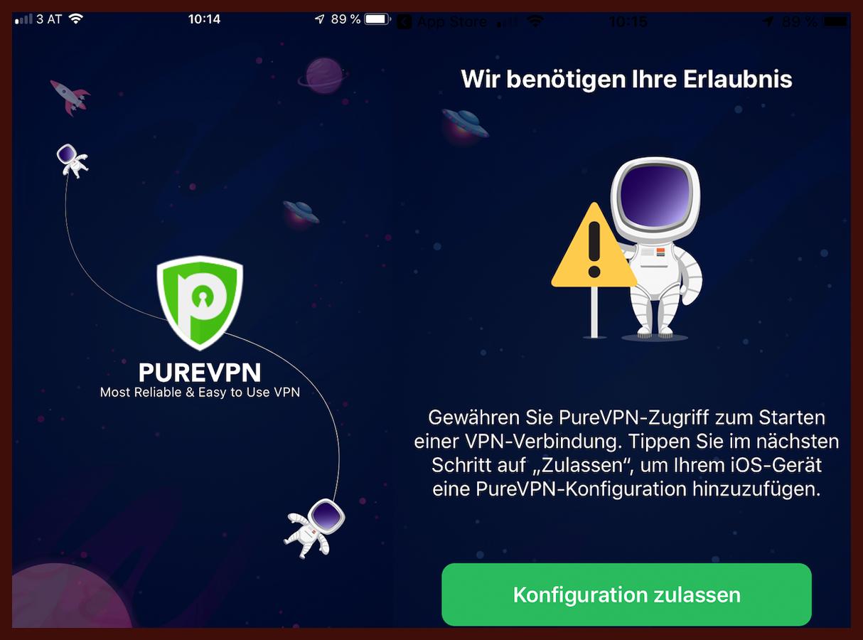 PureVPN App Test