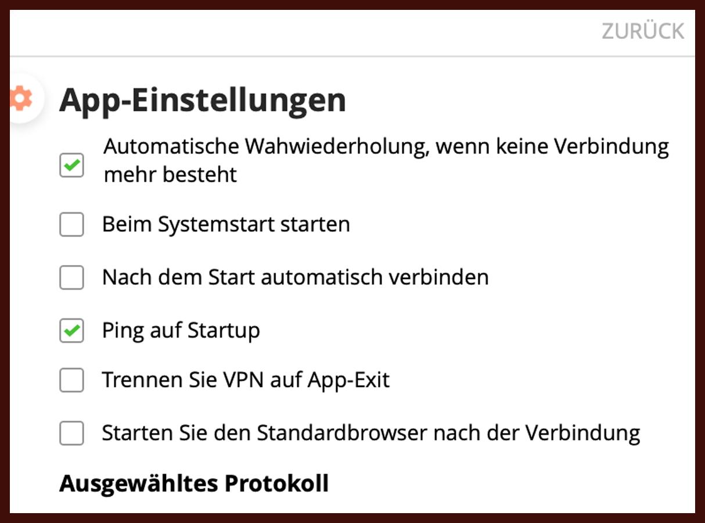 Deutsche Übersetzungen bei PureVPN