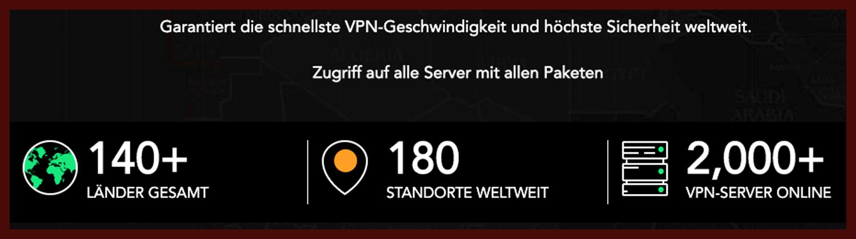 PureVPN Fazit Server