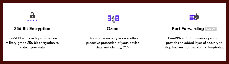 Sicherheit / Security Screenshot