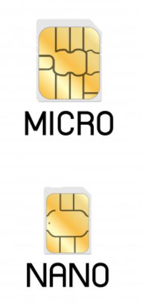 Micro SIM zu Nano SIM